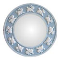 Round Bunny Wall Mirror, Bunnies Nursery Decor | Bunnies Wall Decals | ABaby.com