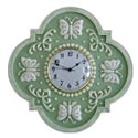 Butterfly Design Wall Clock, Nursery Clocks | Kids Wall Clocks | ABaby.com