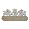 Bunny Coat Rack, Peg Shelves | Kids Nursery Wall Shelves | ABaby.com