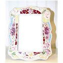 Le Chateau Mosaic Rectangular Frame, Kids Bedroom Decor | Clocks | Baby Picture Frames | ABaby.com