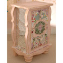 Bohemian Mosaic Nightstand, Kids Night Tables | Toddler Night Stand | ABaby.com