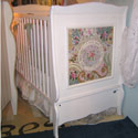 Garden Glory Mosaic Crib, Custom Cribs | Rustic Cribs | Unique Cribs | ABaby.com