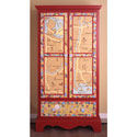 Global Mosaic Armoire