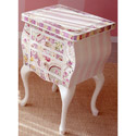 Julianne Mosaic Nightstand, Night Tables | Kids Night Stands | Childrens Nightstands | ABaby.com