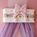 Ribbon Mosaic Cornice, Bed Crowns | Baby Canopy | Bed Crowns For Girls | ABaby.com