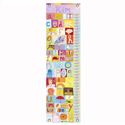 All Girl Alphabet Growth Chart, Personalized Baby Growth Chart for Girls & Boys