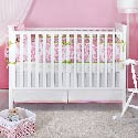 Ela Organic Crib Bedding Set, Baby Girl Crib Bedding | Girl Crib Bedding Sets | ABaby.com