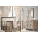 Provence Nursery Furniture Set, Nursery Furniture Sets | Baby Furniture Collections | Crib Set