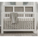 Rustico Moderno 4-in-1 Convertible Crib, Baby Cribs | Modern | Convertible | Antique | Vintage