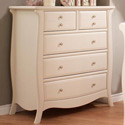 Bella 5 Drawer Dresser, Children's Dressers | Kids | Toddler | ABaby.Com