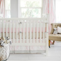 Personalized Cross My Heart Crib Bedding, Baby Crib Bedding Sets | Bedding Sets for Boys & Girls | aBaby.com