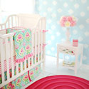 Personalized Layla Rose Baby Crib Bedding, Baby Crib Bedding Sets | Bedding Sets for Boys & Girls | aBaby.com