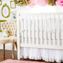 Personalized Madison Avenue Baby Bedding, Baby Crib Bedding Sets | Bedding Sets for Boys & Girls | aBaby.com