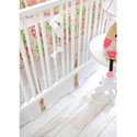 Pedal Pusher in Pink Crib Bedding, Crib Comforters |  Ballerina Crib Bedding | ABaby.com