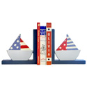 Sailboats Bookends, Baby Bookends | Childrens Bookends | Bookends For Kids | ABaby.com