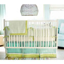 Sprout 3 Piece Crib Bedding, Boys Crib Bedding Sets - Crib Sets for Boys with Sheets & Bumpers