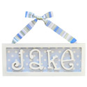 Straight Name Plaque, Name Wall Plaques | Baby Name Plaques | Kids Name Plaques
