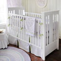 Sweet Violet 3 Piece Crib Bedding , Baby Girl Crib Bedding | Girl Crib Bedding Sets | ABaby.com