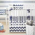 Chevron 3 Piece Crib Bedding Set, Baby Girl Crib Bedding | Girl Crib Bedding Sets | ABaby.com