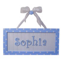 Nantucket Personalized Wall Hanging, Name Wall Plaques | Baby Name Plaques | Kids Name Plaques