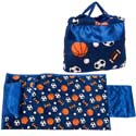 Sports Print Nap Bag, Sports Themed Nursery | Boys Sports Bedding | ABaby.com