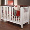 Piccolo Convertible Crib, Custom Cribs | Rustic Cribs | Unique Cribs | ABaby.com