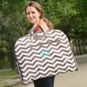 Personalized Chevron Garment Bag,