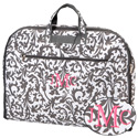 Personalized Gray Floral Garment Bag, Personalized Baby Gifts | Gifts for Kids | ABaby.com