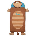 Personalized Monkey Sleeping Bag, African Safari Themed Bedding | Baby Bedding | ABaby.com