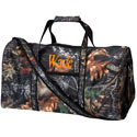 Personalized Camo Leaves Duffle Bag