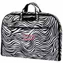 Personalized Zebra Stripes Garment Bag,