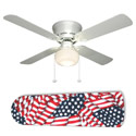 American Flag Ceiling Fan, Ceiling fans for kids | childrens ceiling fans | ABaby.com