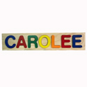 Carolee Name Puzzle