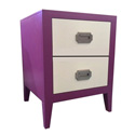 Devon Two Drawer Nightstand