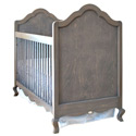 Hilary Crib with Smooth Panel, Designer Baby Cribs | Canopy | Rustic Nursery Crib Set  | aBaby.com