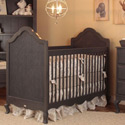 Hilary Crib with Caning, Designer Baby Cribs | Canopy | Rustic Nursery Crib Set  | aBaby.com