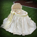Sunshine Bassinet, Baby Bassinet Bedding sets, Bassinet Skirts, Bassinet Liners, and Hoods