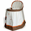 Aviery Bassinet, Baby Girl Bassinet Bedding | Baby Girl Bedding Sets | ABaby.com