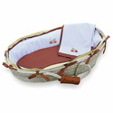 Firetruck Moses Basket, Baby Baskets For Boys | Boys Moses Baskets | ABaby.com