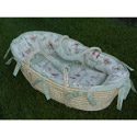 Over the Moon Moses Basket, Moses Baskets With Stands | Baby Moses Baskets | ABaby.com