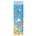 Ocean World Growth Chart, Tropical Sea Nursery Decor | Tropical Sea Wall Decals | ABaby.com