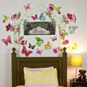 Butterfly Arbor Wall Decal, Butterfly Themed Nursery | Butterfly Bedding | ABaby.com