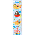 Collage Pirate Boys Growth Chart, Personalized Baby Growth Chart for Girls & Boys