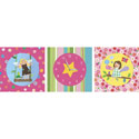 Fairy Friends Art Time Clock, Girls Wall Art | Artwork For Girls Room | ABaby.com