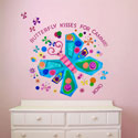 Jewel Butterfly Wall Decal, Butterfly Themed Nursery | Butterfly Bedding | ABaby.com