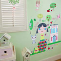 Paper Doll-Lisa Wall Decal, Kids Wall Decals | Baby Room Wall Decals | Ababy.com