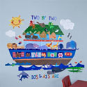 Noah's Ark Wall Decal, Kids Wall Decals | Baby Room Wall Decals | Ababy.com