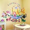 Once Upon a Time Wall Decal, Princess Nursery Decor | Princess Wall Decals | ABaby.com