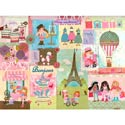 Piece of Paris Wall Art, Girls Wall Art | Artwork For Girls Room | ABaby.com