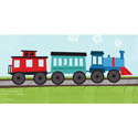 Railroad Canvas Art, Train And Cars Themed Nursery | Train Bedding | ABaby.com
